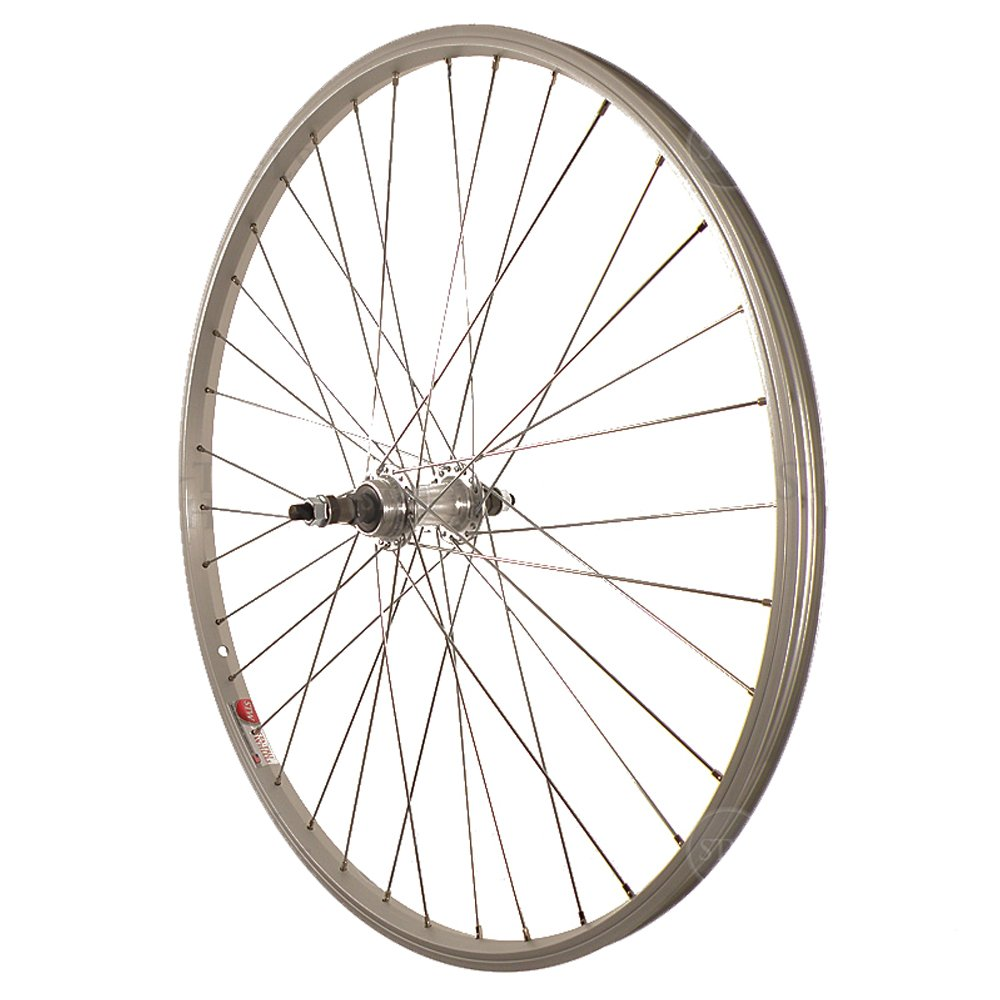 Sta-Tru STW 26 X 1.5 BO Silver Rear Mountain Bike Wheel