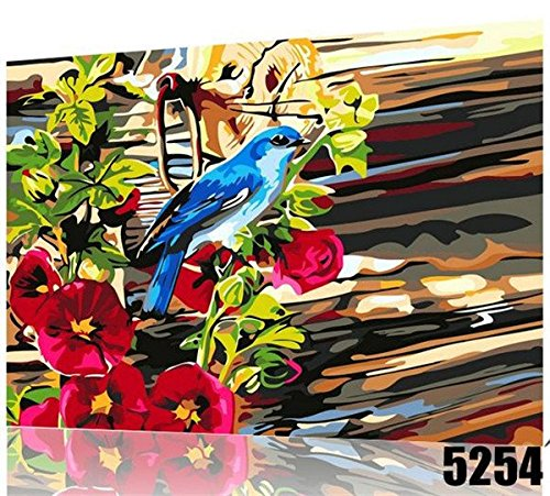 Bird Painting, Paint By Number Kit16*20 Inch