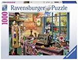 jigsaw puzzles sewing - Ravensburger the Sewing Shed Puzzle (1000 Piece)