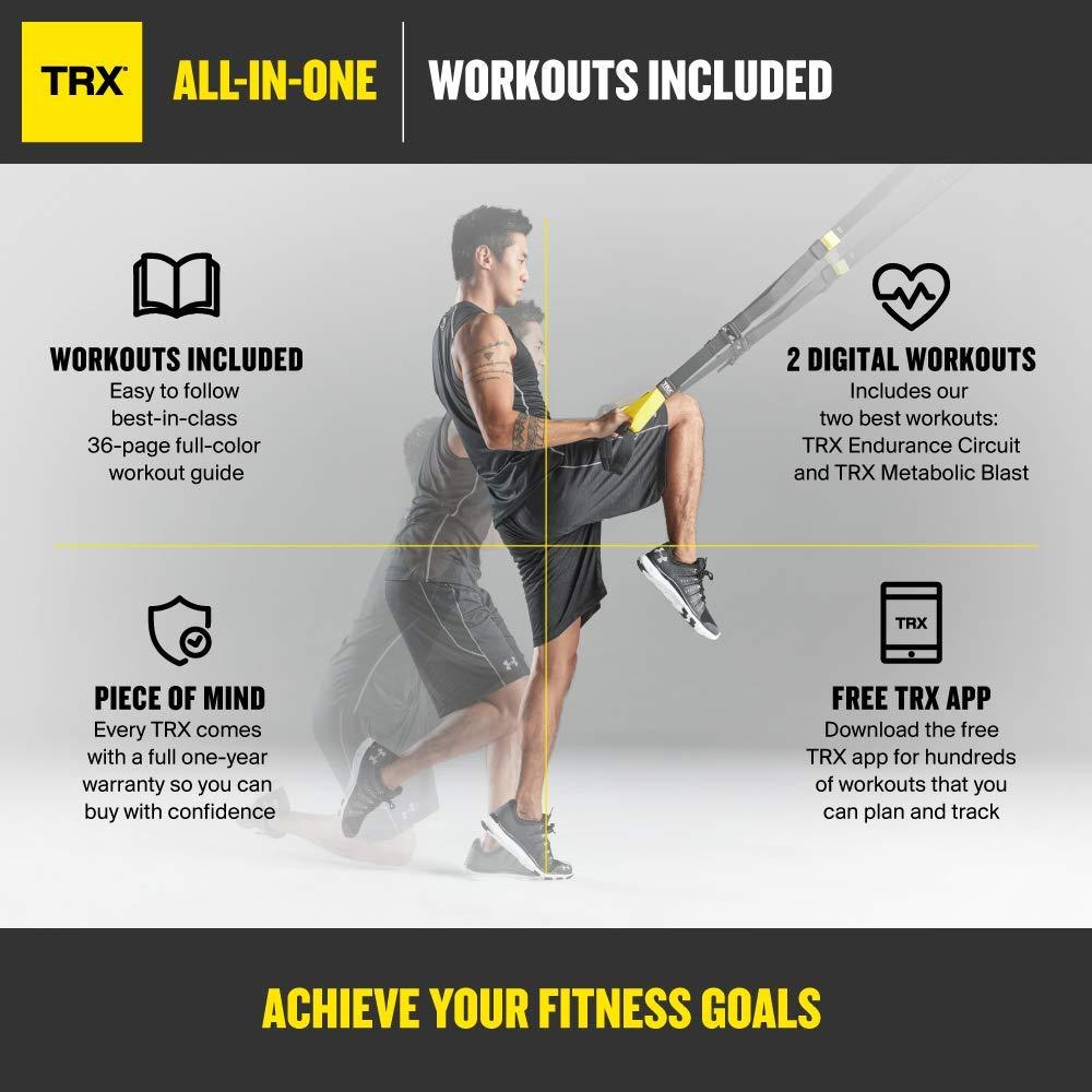 Trx Training Suspension Trainer Basic Kit Door Anchor Complete