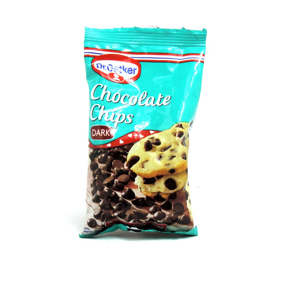 Dr. Oetker - Chocolate & Inclusions - Chips & Inclusions - Dark Chocolate Chips - 100g
