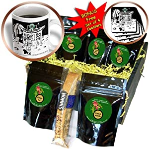 cgb_2382_1 Londons Times Funny Food Coffee other Digestibles – Starbucks Is Everywhere – Coffee Gift Baskets – Coffee Gift Basket
