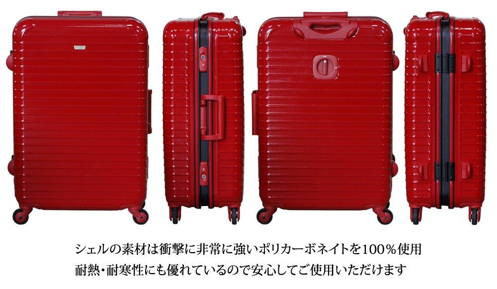 e6f7768c46e6 BALENO B00OCB30DM L ブラック ブラック L EXE-スーツケース - golife.com.ec