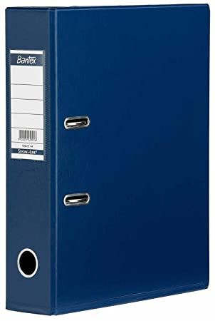 Bantex - Archivador de palanca (tamaño A4), color azul 50 mm 1451 - 01 [Pack de 1]: Amazon.es: Oficina y papelería