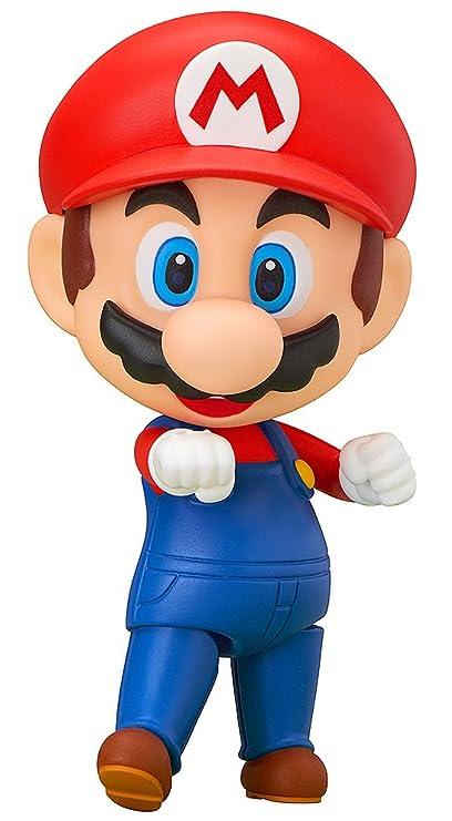 Amazoncom Good Smile Super Mario Mario Nendoroid Action Figure