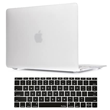 100% authentic 7c29f bf6ab ProCase MacBook 12 Inch Case A1534, Hard Case Rubberized Shell Cover with  Silicone Keyboard Skin Cover for Apple MacBook 12