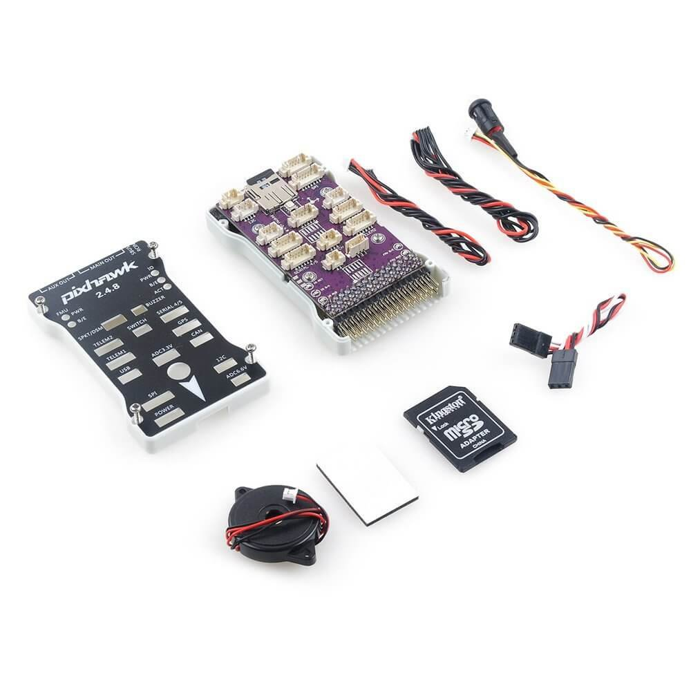 Pixhawk PX4 2 4 8 32 Bit ARM Flight Controller Integrated PX4FMU PX4IO with  Micro SD Card for FPV Multicopters Quadcopter Racing Drone by LITEBEE