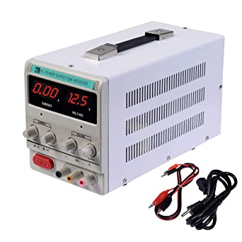 Variable Adjustable Lab Dc Bench Power Supply 0 30v 0 10a Us Power