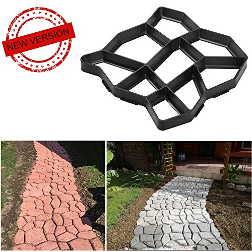 Cheap  VIPITH New Upgrade Version 13 x 13 inch DIY Walk Maker Concrete..