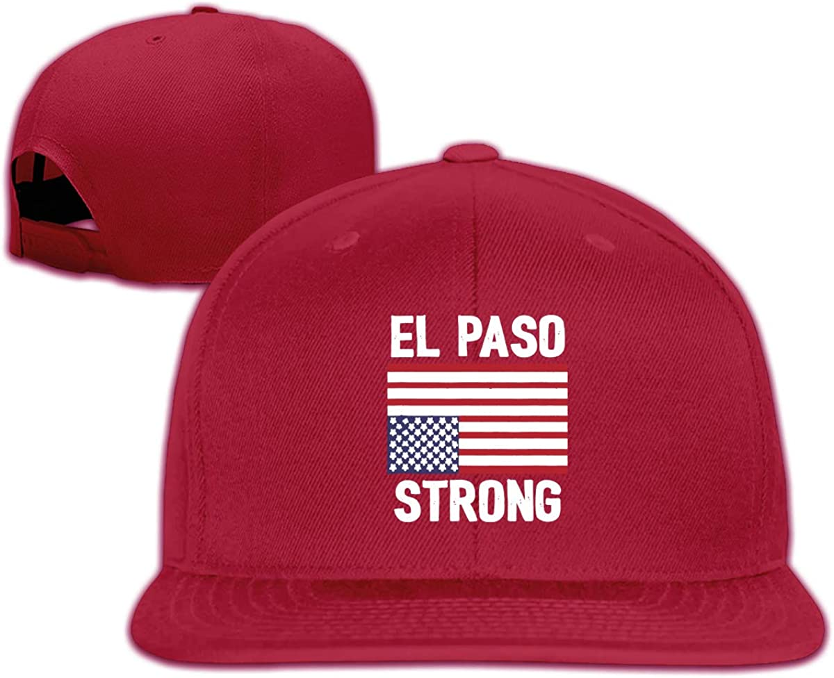 El Paso Strong Upside Down American Flag Unisex Adult Hats Classic Baseball Caps Sports Hat Peaked Cap