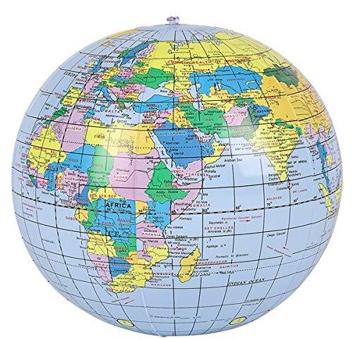 Rhode Island Novelty 16'' World Globe Inflates | Pack of 24