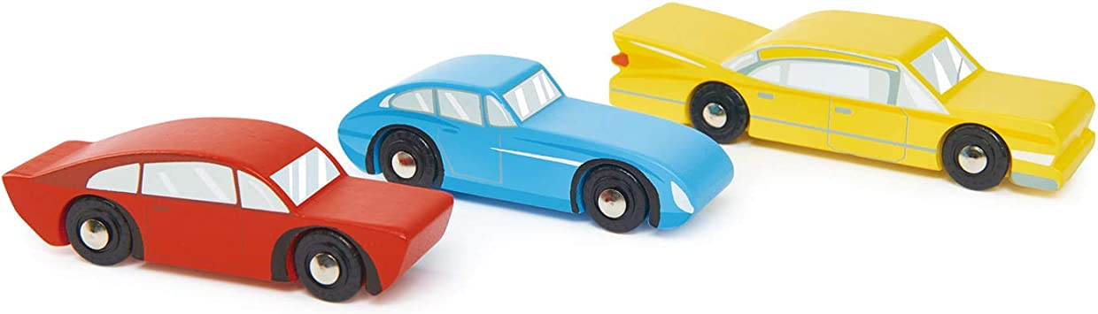 Tender Leaf Toys | Wooden Retro Cars