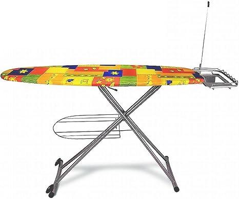 Bügeltisch Bügelbrett für Dampfbügeleisen höhenverstellbar SIB0005
