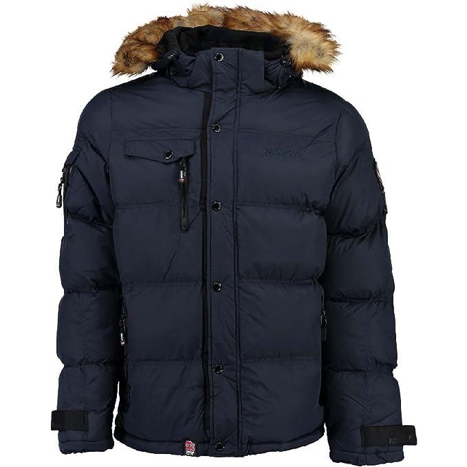 Anorak para hombre Geographical Norway Behar, chaqueta de invierno, chaqueta cálida con