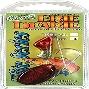 Erie Dearie Fish Lures 3/4 Oz Gold Plated
