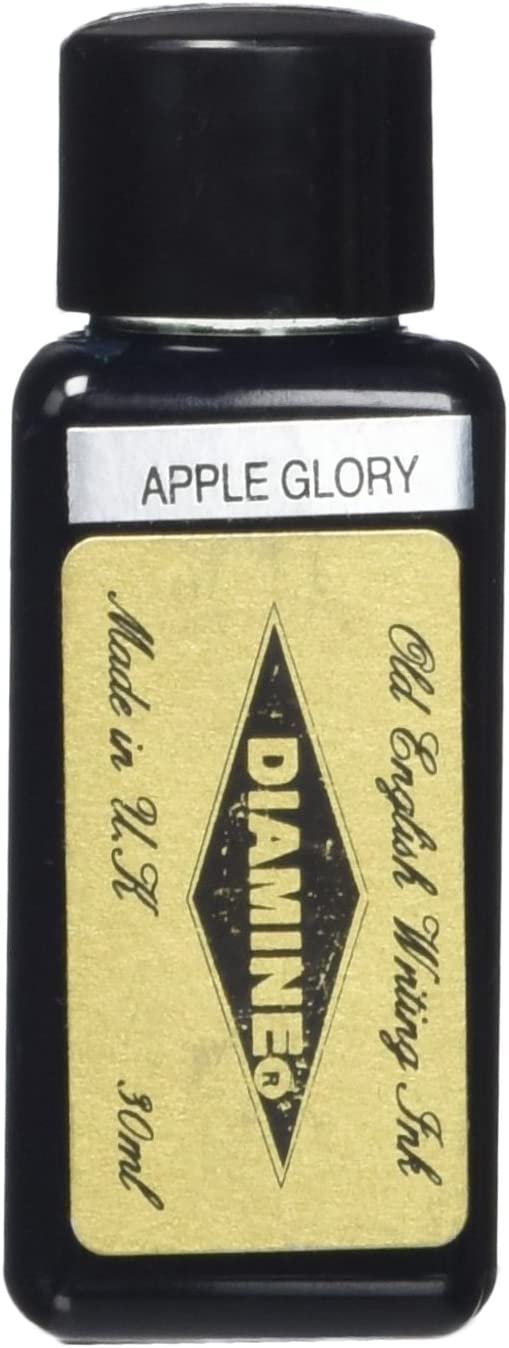 Diamine 30 ml Bottle Fountain Pen Ink, Apple Glory