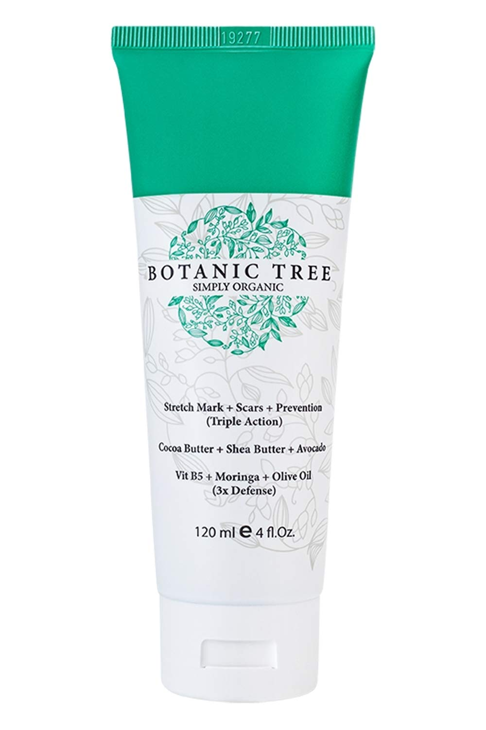 Botanic Tree Stretch Mark Remover Cream-Stretch Marks Removal Belly Butter-Organic Cocoa Butter Stretch Mark Cream For Pregnancy-Stretch Mark Cream Lotion w/Avocado-Scar Cream for Women And Men.