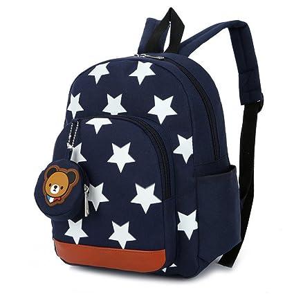Mochila para niños, mochila preescolar para guardería Bolsas para niños Mochila para libros para niños Mochila para guardería Mochila Boy Girl 3-7 ...