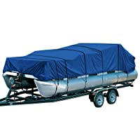 EMPIRECOVERS AQUA PONTOON BOAT COVER - Best pontoon boat cover