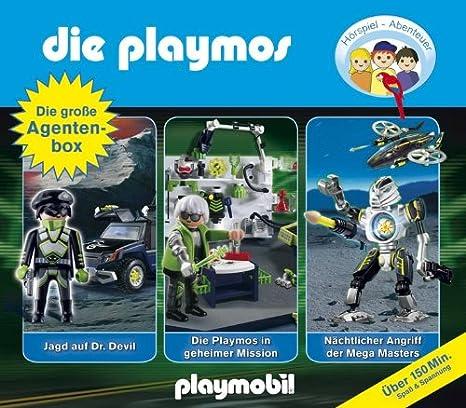 Die Große Agenten-Box: die Playmos: Amazon.es: Música