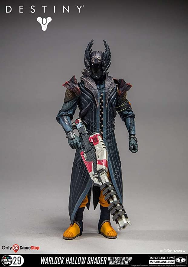 Destiny Kings Fall Warlock #30 7 inch Figure (Light Beyond Nemesis)