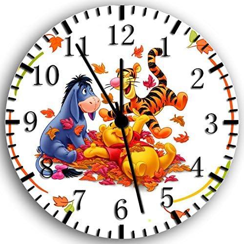 Winnie The Pooh Frameless Borderless Wall Clock Z69 Nice