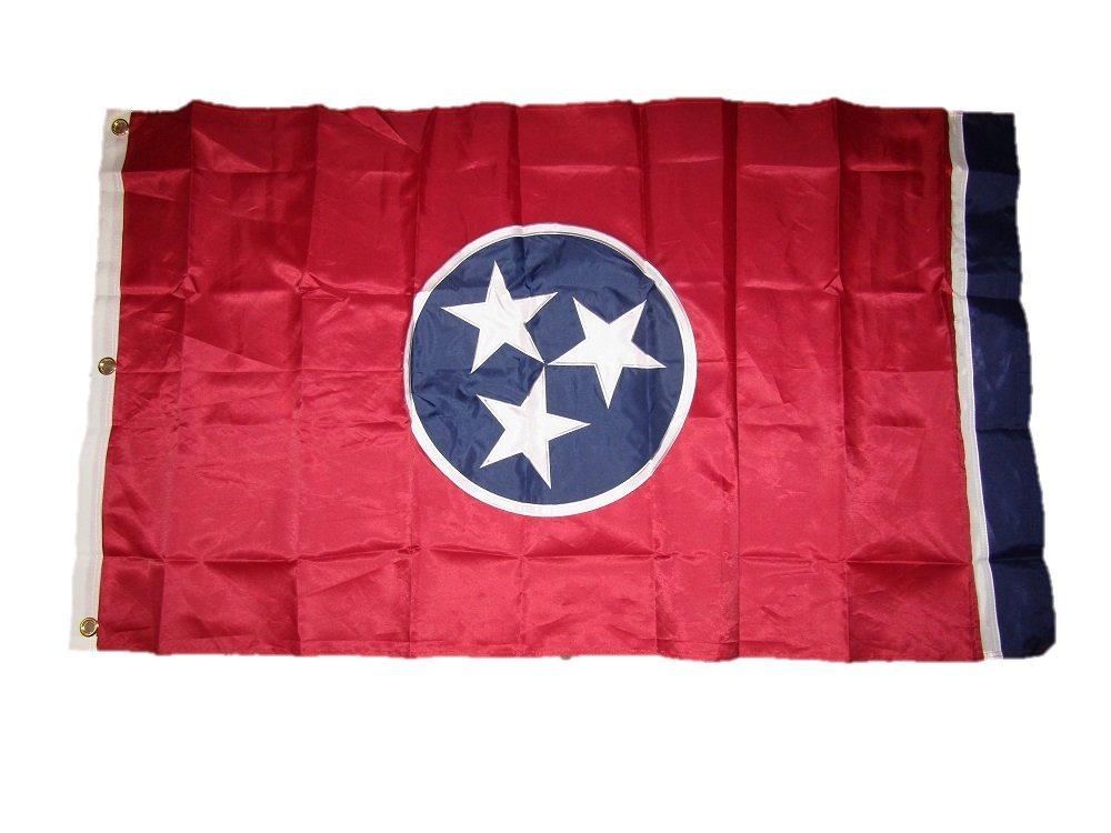 【期間限定送料無料】 テネシー州 300D Solarmax ナイロン国旗 Solarmax ナイロン国旗 3x5 刺繍 3フィートx5インチ 300D B01MY6IWUL, Select Shop Nose Low:f0f8af29 --- goumitra.com
