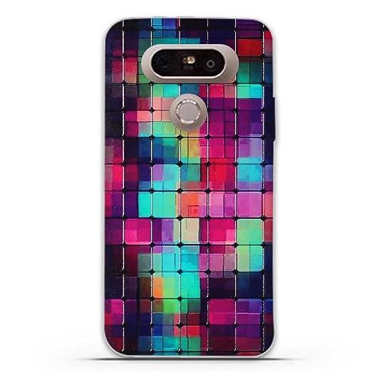 8 opinioni per LG G5 Cover, Fubaoda Fantasia 3D Rilievo UltraSlim TPU Skin Cover Protettiva