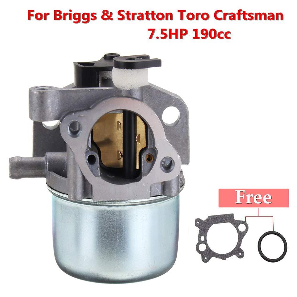 kaakaeu - Carburador para cortacésped Briggs Stratton Toro ...