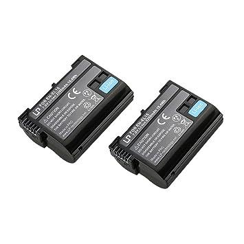 EN-EL15 Battery for Nikon D600, D610, D750, D800: Amazon co