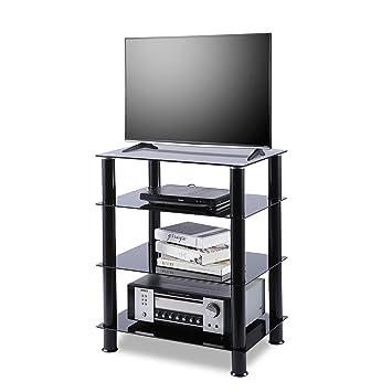 Amazon Com Tavr 4 Tiers Media Compontent Tv Stand Audio Video Tower