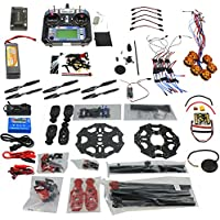 QWinOut Full Set 6-axis Hexacopter Drone Kit: Tarot 680PRO Frame + 700KV Motor + GPS + APM 2.8 Flight Control + LCD Transmitter