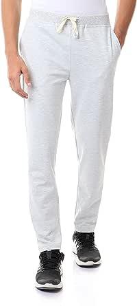 Off Cliff Cotton Drawstring-Elastic Waist Straight-Fit Sweatpants for Men