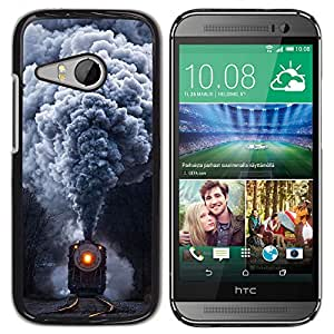 Stuss Case / Funda Carcasa protectora - Steam Locomotive Train - Vintage Retro - HTC ONE MINI 2 / M8 MINI