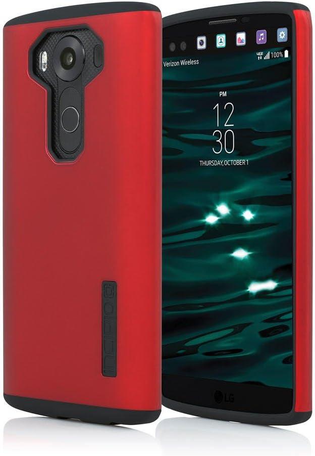 Incipio - Carcasa rígida para LG V10, Doble Capa, Color Rojo y ...
