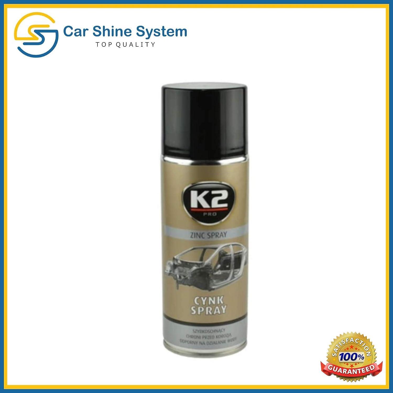K2 Zink Spray Hochtemperatur Korrosionsschutz Rostschutz Schweißbar 400ml Auto