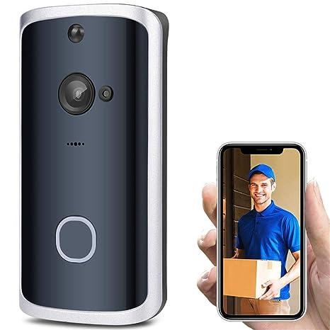 Iuhan Smart WiFi Phone Doorbell Camera Video Wireless Remote