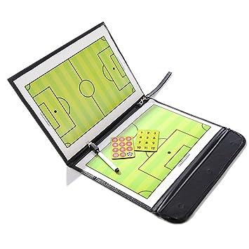 Amazingdeal365 Pizarras de Fútbol Plegable con Accesorios ...