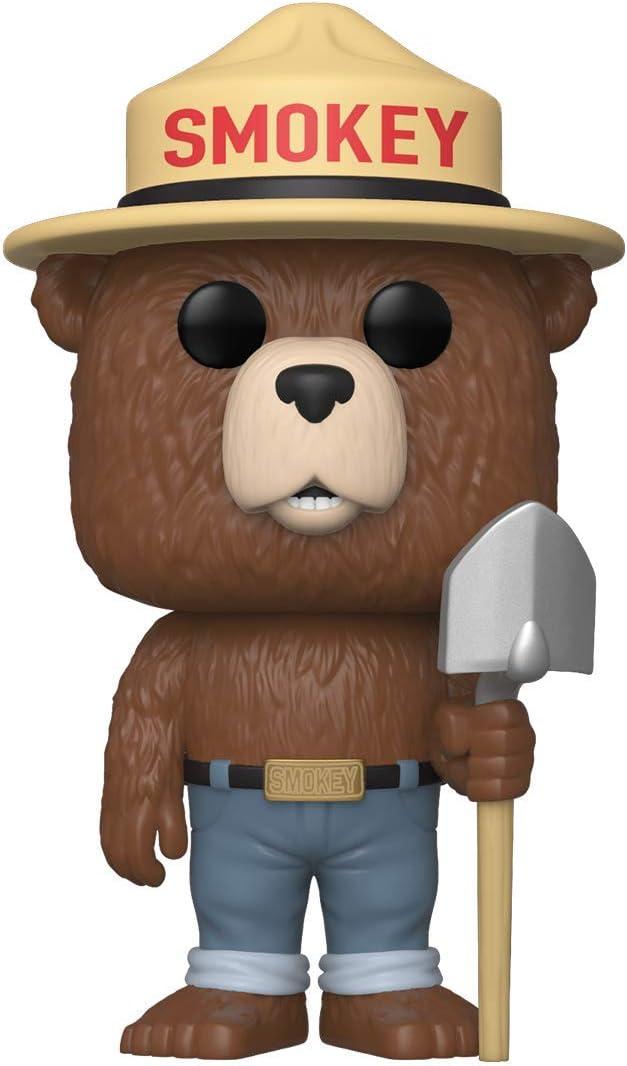 Amazon Com Funko Pop Ad Icons Smokey Bear Multicolor 3 75 Inches Toys Games