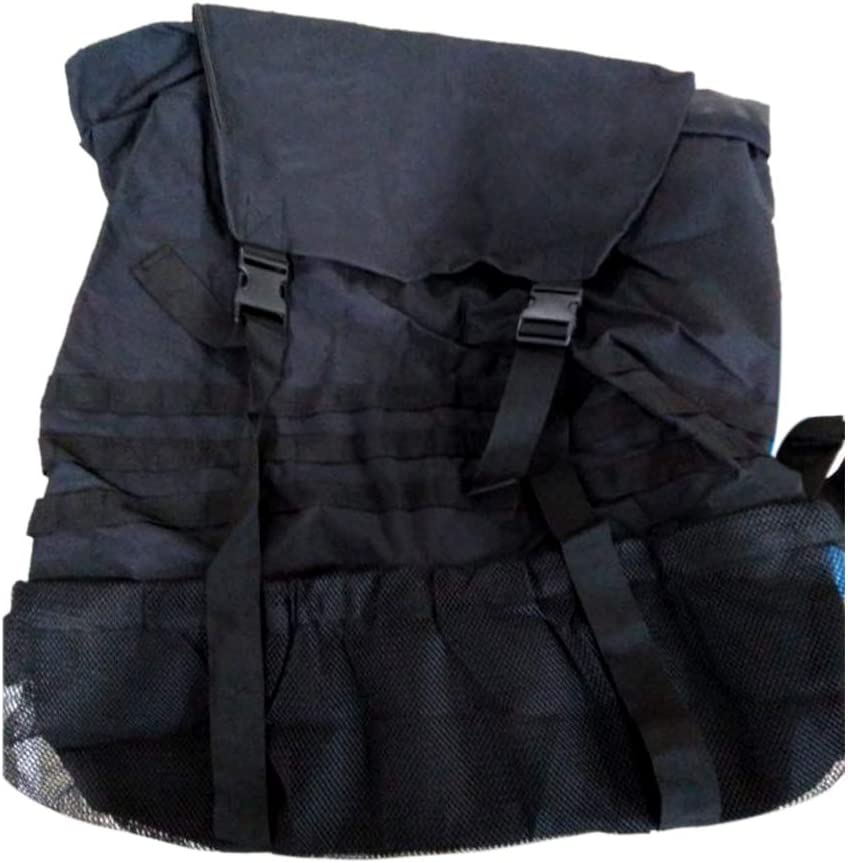 Jeep Wrangler Trash Bag,Oxford Cloth Spare Tire Garbage Bag with X Strap Design,Waterproof Heavy Duty Backpack Cargo Saddle Organizer