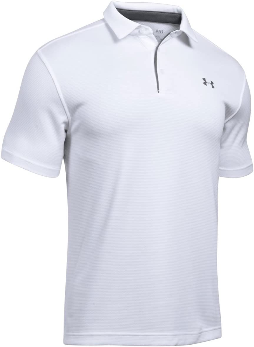 Under Armour Tech Polo, Hombre, Blanco (White/Graphite/Graphite ...