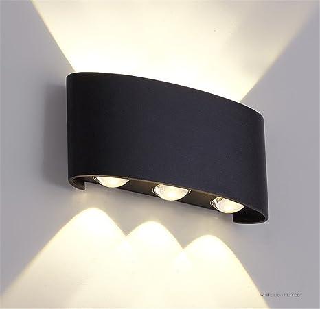 Moderno 6 teste 6W piccola lampada da parete Camera da letto ...