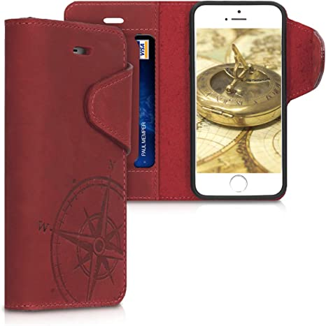 cover in pelle iphone se