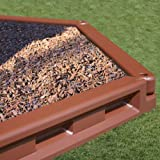 KidWise Molded 6 inch Tall Borders-Brown