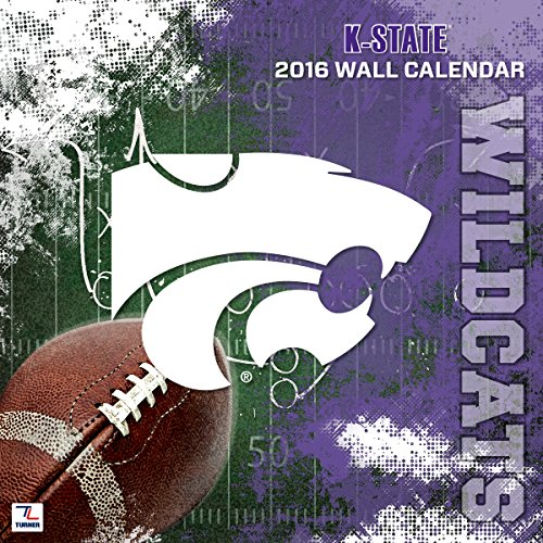 "Turner Kansas State Wildcats 2016 Team Wall Calendar, September 2015 - December 2016, 12 x 12"" (8011835)"