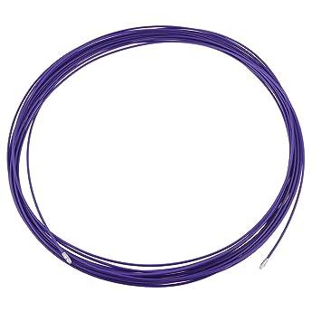 30 M Länge, 3,5 mm Durchmesser, Lila, Durch Ziehen Leitung Kabel ...