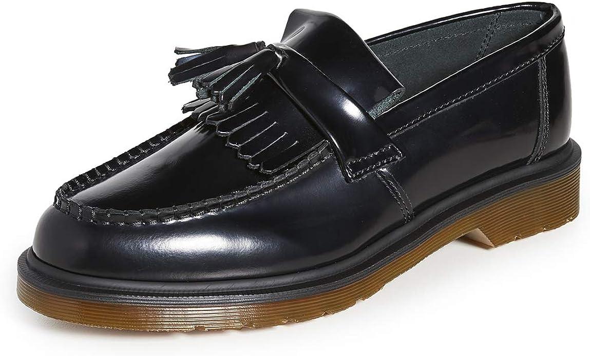 Dr Martens Men S Adrian Tassel Loafers Black 13 Medium Us Loafers Slip Ons