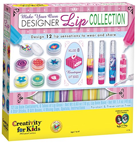 Childrens Designer Boutique (Creativity for Kids Make Your Own Designer Lip Collection - Makes 9 Lip Balms and 3 Lip)