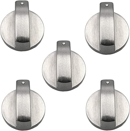 5x Gas Stove Knobs Universal Range Oven Cooker Kitchen Hob Rotary Switch Control
