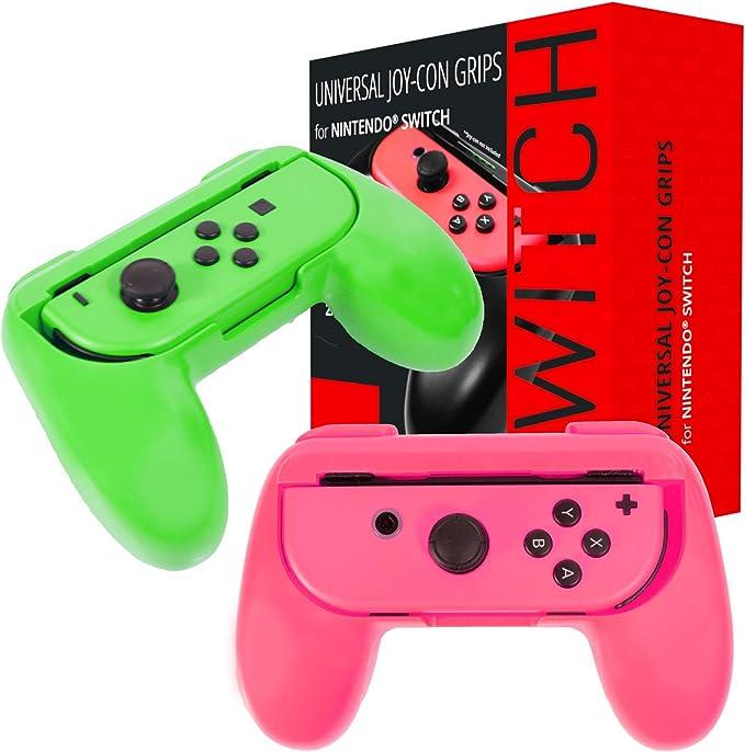 Orzly Grips compatibles con los Joy-Cons de la Nintendo Switch ...